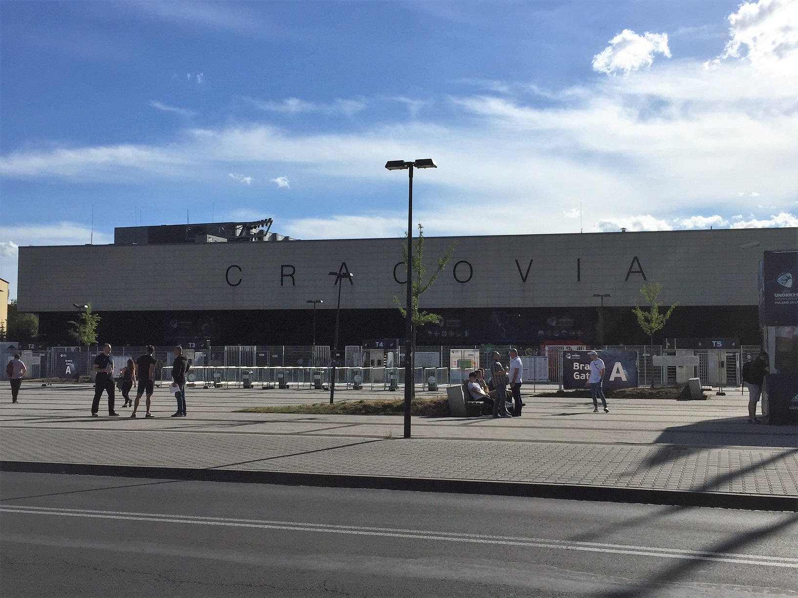 Estadio del KS Cracovia.