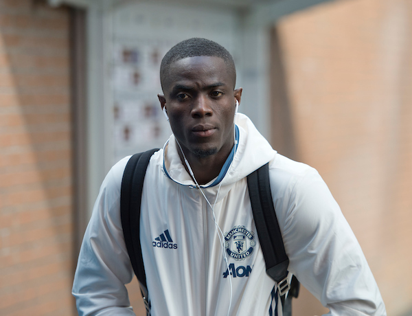 Eric Bailly arrives at the stadium before the Premier League match at Turf Moor, Burnley Picture by Russell Hart/Focus Images Ltd 07791 688 420 23/04/2017