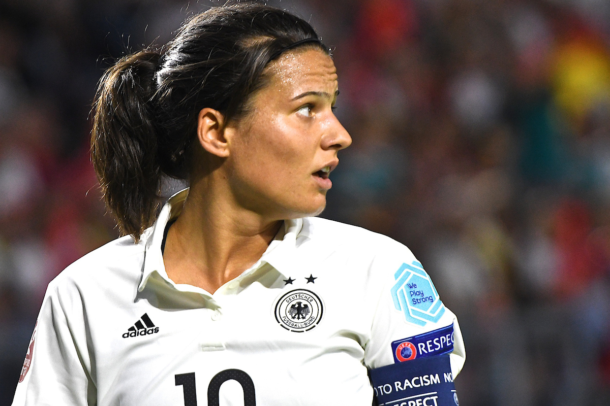 Dzsenifer Marozsan of Germany during the UEFA Women's Euros 2017 match at the Rat Verlegh Stadion, Breda Picture by Kristian Kane/Focus Images Ltd +44 7814 482222 17/07/2017