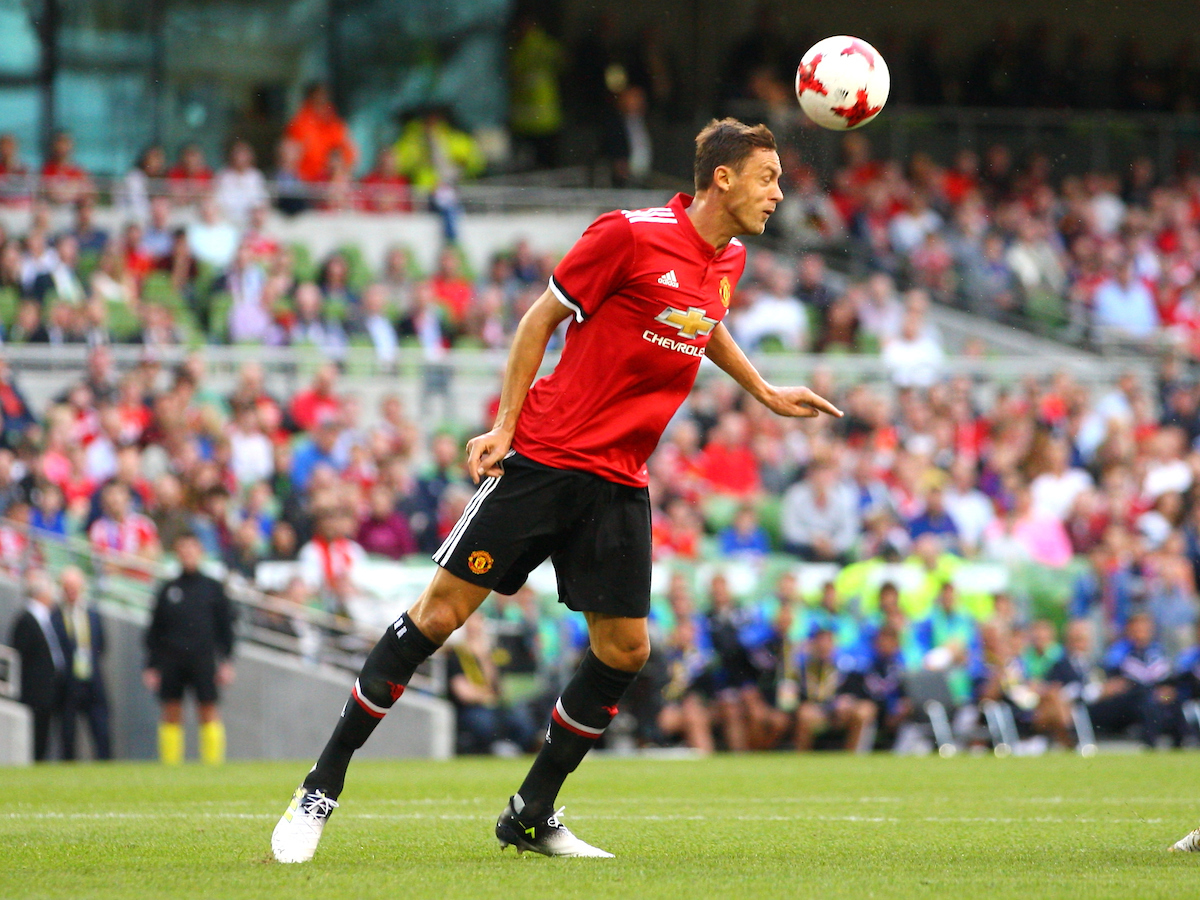 Nemanja Matic of Manchester United during the Pre-season Friendly match at the Aviva Stadium, Dublin Picture by Yannis Halas/Focus Images Ltd +353 8725 82019 02/08/2017