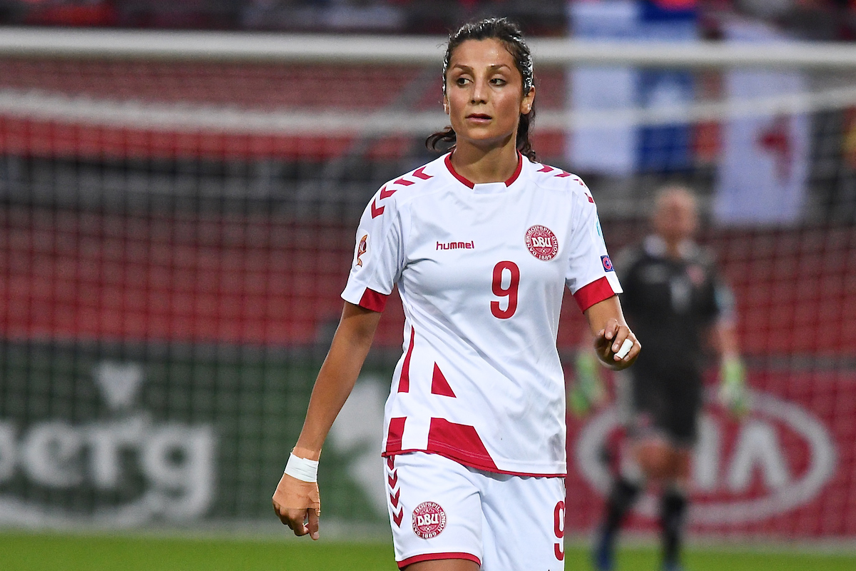 Nadia Nadim of Denmark during the UEFA Women's Euros 2017 match at Sparta Stadion Het Kasteel, Rotterdam Picture by Kristian Kane/Focus Images Ltd +44 7814 482222 20/07/2017