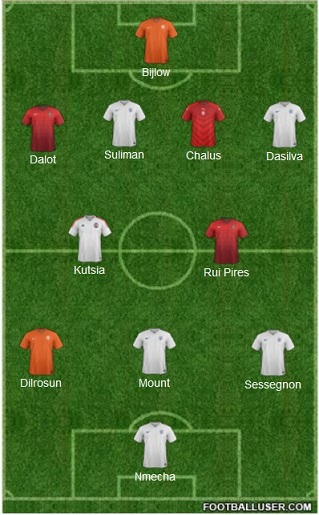 Once ideal del Europeo sub-19 de 2017.