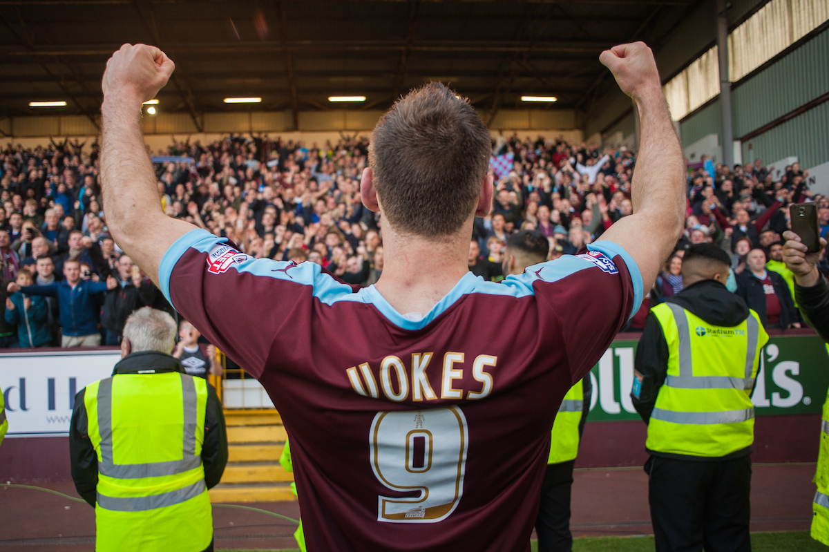 Vokes fue el gran protagonista del Burnley. Foto: Focus Images Ltd.