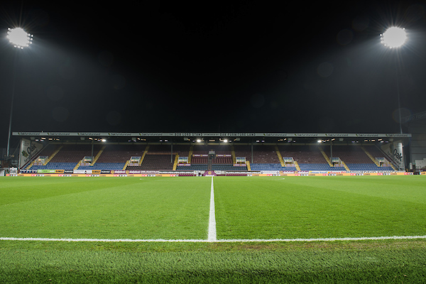 A general view of Turf Moor, Burnley ahead of the third round FA Cup match between Burnley and Sunderland Picture by Matt Wilkinson/Focus Images Ltd 07814 960751 17/01/2017