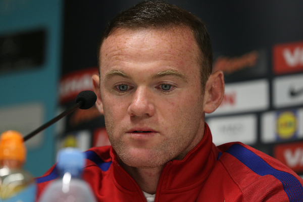 Captain Wayne Rooney pictured during an England press conference at Stadion Stozice, Ljubljana, Slovenia. Picture by Paul Chesterton/Focus Images Ltd +44 7904 640267 10/10/2016