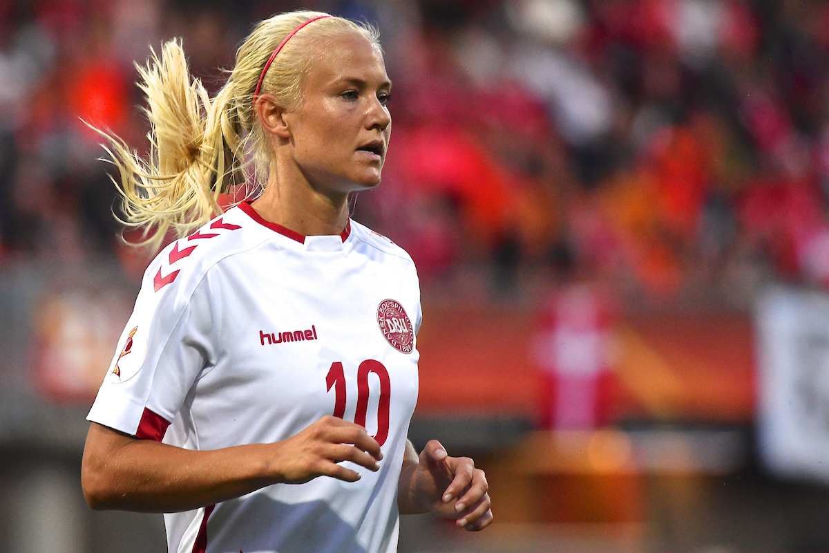 Pernille Harder of Denmark during the UEFA Women's Euros 2017 match at Sparta Stadion Het Kasteel, Rotterdam Picture by Kristian Kane/Focus Images Ltd +44 7814 482222 20/07/2017