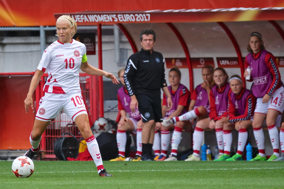 Pernille Harder of Denmark during the UEFA Women's Euros 2017 Final match at De Grolsch Veste, Enschede Picture by Kristian Kane/Focus Images Ltd +44 7814 482222 06/08/2017