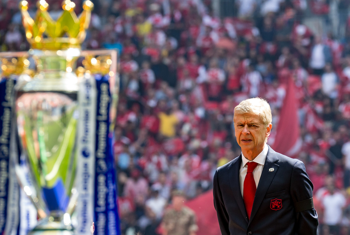 Arsene Wenger manager of Arsenal during the FA Community Shield match at Wembley Stadium, London Picture by Liam McAvoy/Focus Images Ltd 07413 543156 06/08/2017