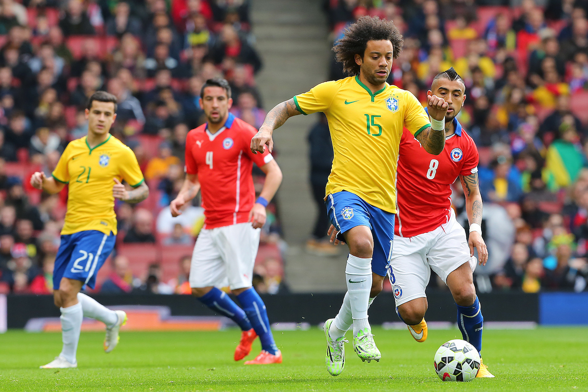 during the International Friendly match at the Emirates Stadium, London Picture by Richard Calver/Focus Images Ltd +44 7792 981244 28/03/2015