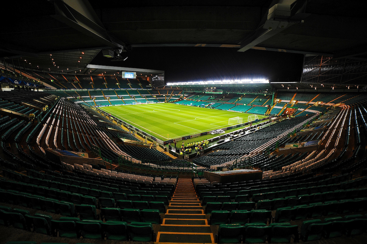 Picture by Ian Wadkins/Focus Images Ltd +44 7877 568959 26/11/2013 General view of the stadium ahead of the UEFA Champions League match at Celtic Park, Glasgow.
