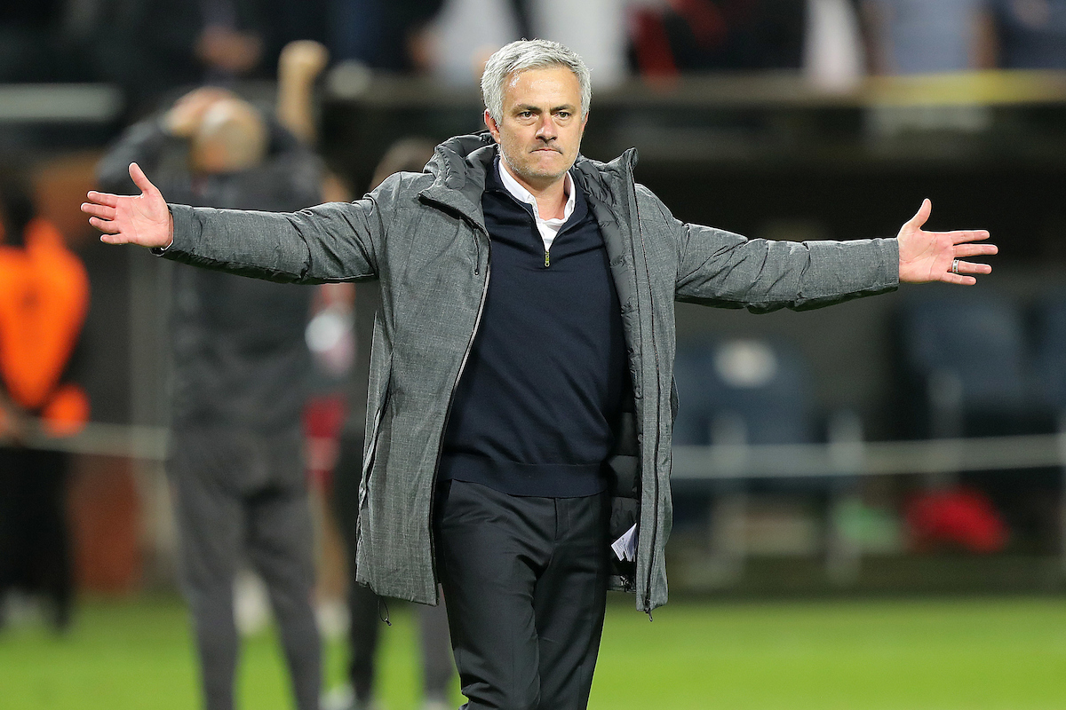 Manchester United Manager Jose Mourinho celebrates victory at the end of the UEFA Europa League match at Friends Arena, Stockholm Picture by Paul Chesterton/Focus Images Ltd.