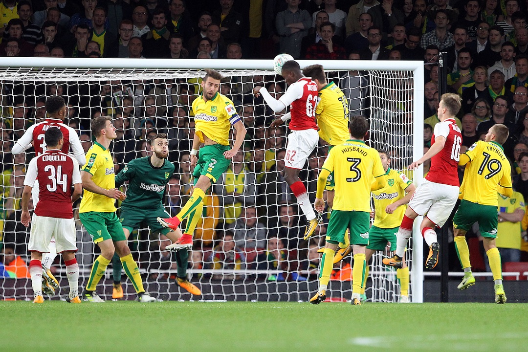 Arsenal Nketiah Focus