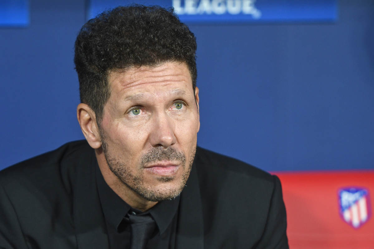 Atletico Madrid manager Diego Simeone pictured ahead of the UEFA Champions League match at the Wanda Metropolitano Stadium, Madrid Picture by Kristian Kane/Focus Images Ltd +44 7814 482222 27/09/2017