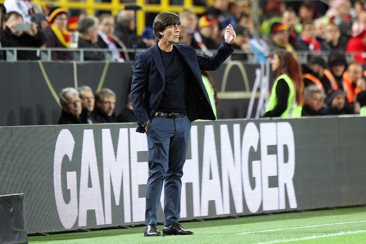 Germany Coach Joachim Low during the International Friendly match at Signal Iduna Park, Dortmund Picture by Paul Chesterton/Focus Images Ltd +44 7904 640267 22/03/2017
