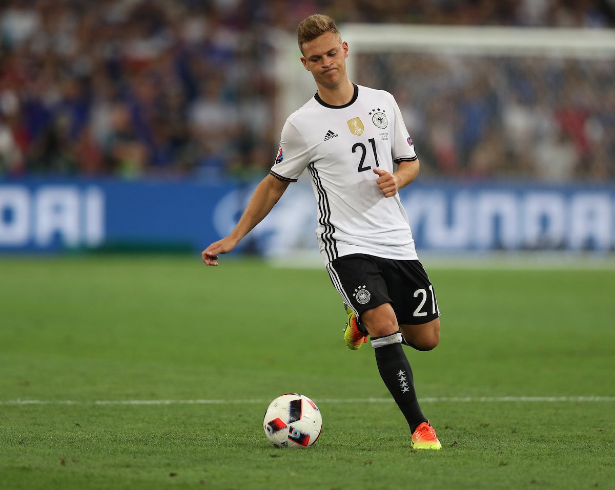 Joshua Kimmich of Germany during the UEFA Euro 2016 semi final at Stade Velodrome, Marseille Picture by Paul Chesterton/Focus Images Ltd +44 7904 640267 07/07/2016