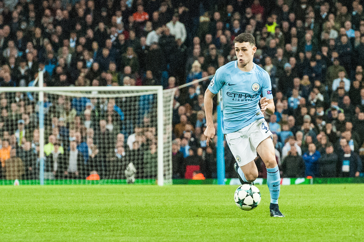 Manchester City Foden Focus