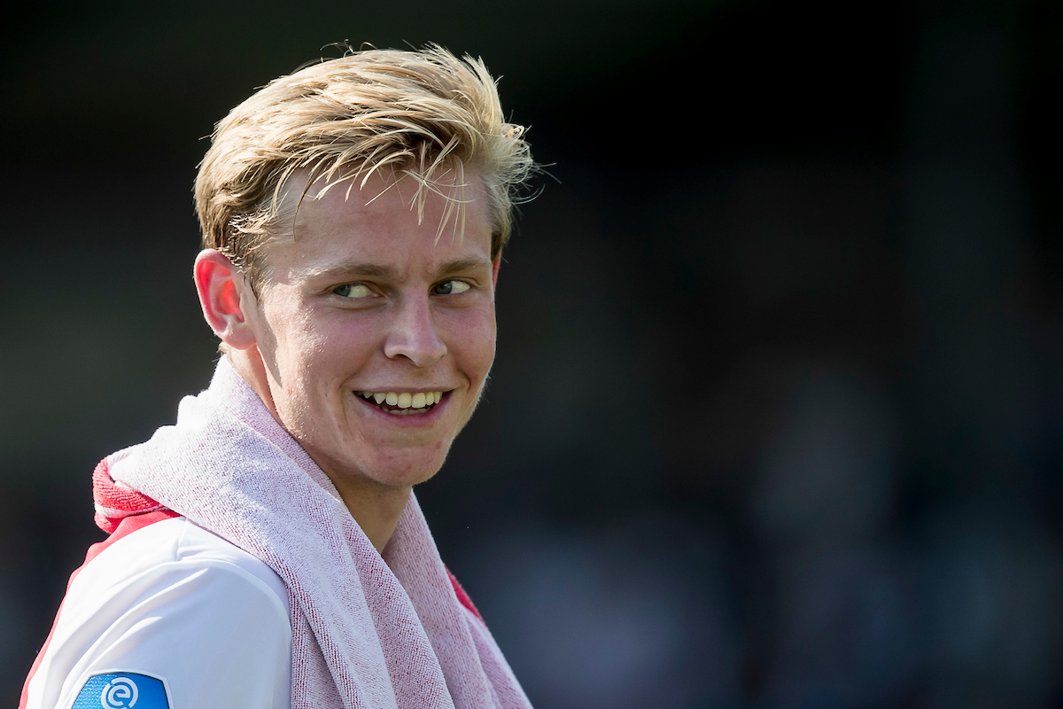 Frenkie de Jong of Ajax Amsterdam after the Dutch Eredivisie match at Stadion De Koel, Venlo Picture by Joep Joseph Leenen/Focus Images Ltd +316 5261929 27/08/2017 ***NETHERLANDS OUT***