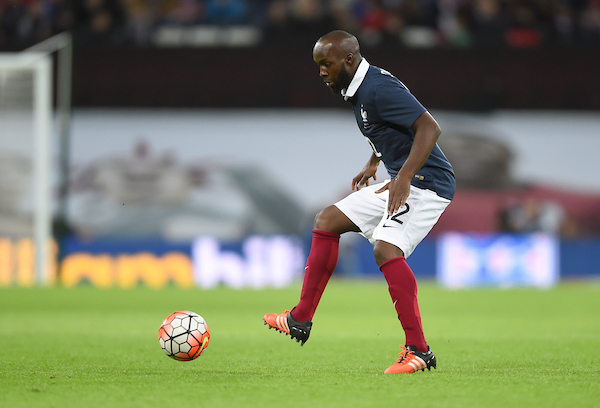 Lassana Diarra of France during the Breast Cancer Care International Friendly match at Wembley Stadium, London Picture by Daniel Hambury/Focus Images Ltd +44 7813 022858 17/11/2015
