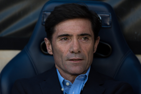 Marcelino Garcia Toral, head coach of Villarreal CF  during the La Liga match at Estadio El Madrigal, Villarreal Picture by Maria Jose Segovia/Focus Images Ltd +34 660052291 24/04/2016