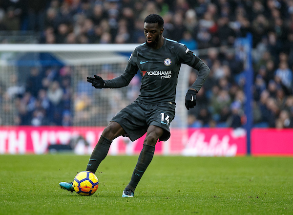 Tiemoue Bakayoko of Chelsea during the Premier League match at the American Express Community Stadium, Brighton and Hove Picture by Liam McAvoy/Focus Images Ltd 07413 543156 20/01/2018