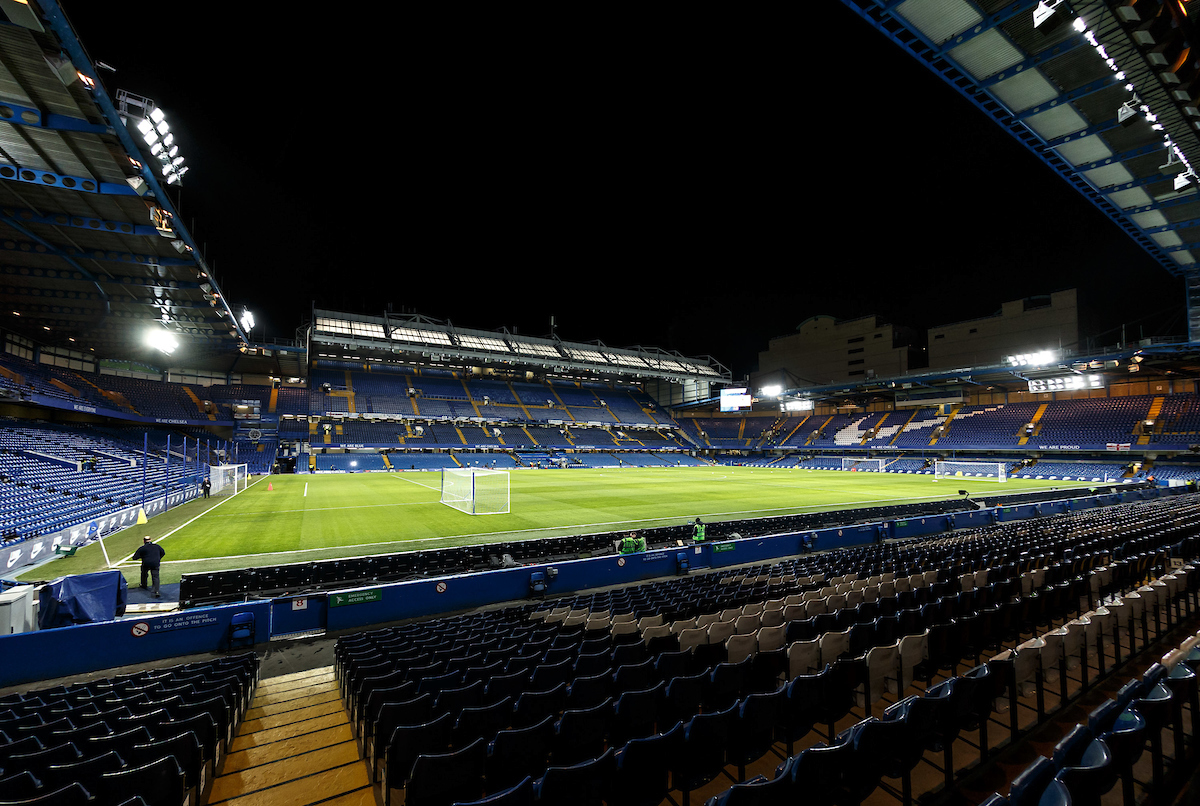 General view inside the stadium during the FA Cup fifth round match at Stamford Bridge, London Picture by Liam McAvoy/Focus Images Ltd 07413 543156 16/02/2018