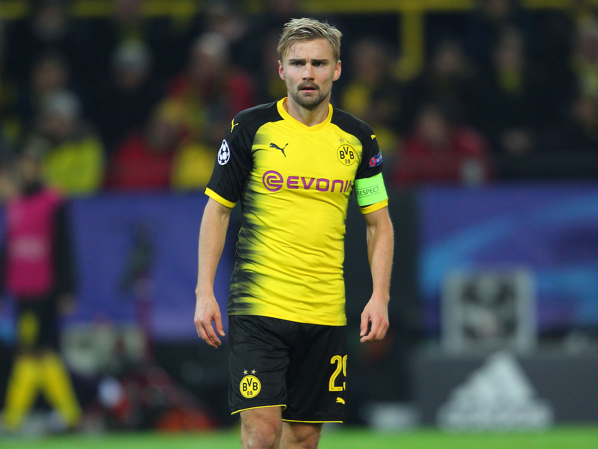 Marcel Schmelzer of Borussia Dortmund during the UEFA Champions League match at Signal Iduna Park, Dortmund Picture by Yannis Halas/Focus Images Ltd +353 8725 82019 21/11/2017