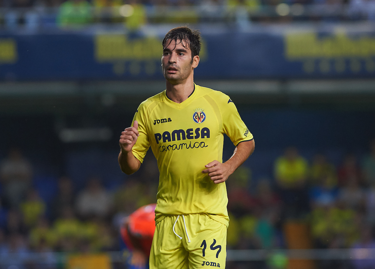 Manu Trigueros of Villarreal CF during the La Liga match at Estadio El Madrigal, Villarreal Picture by Maria Jose Segovia/Focus Images Ltd +34 660052291 23/10/2016