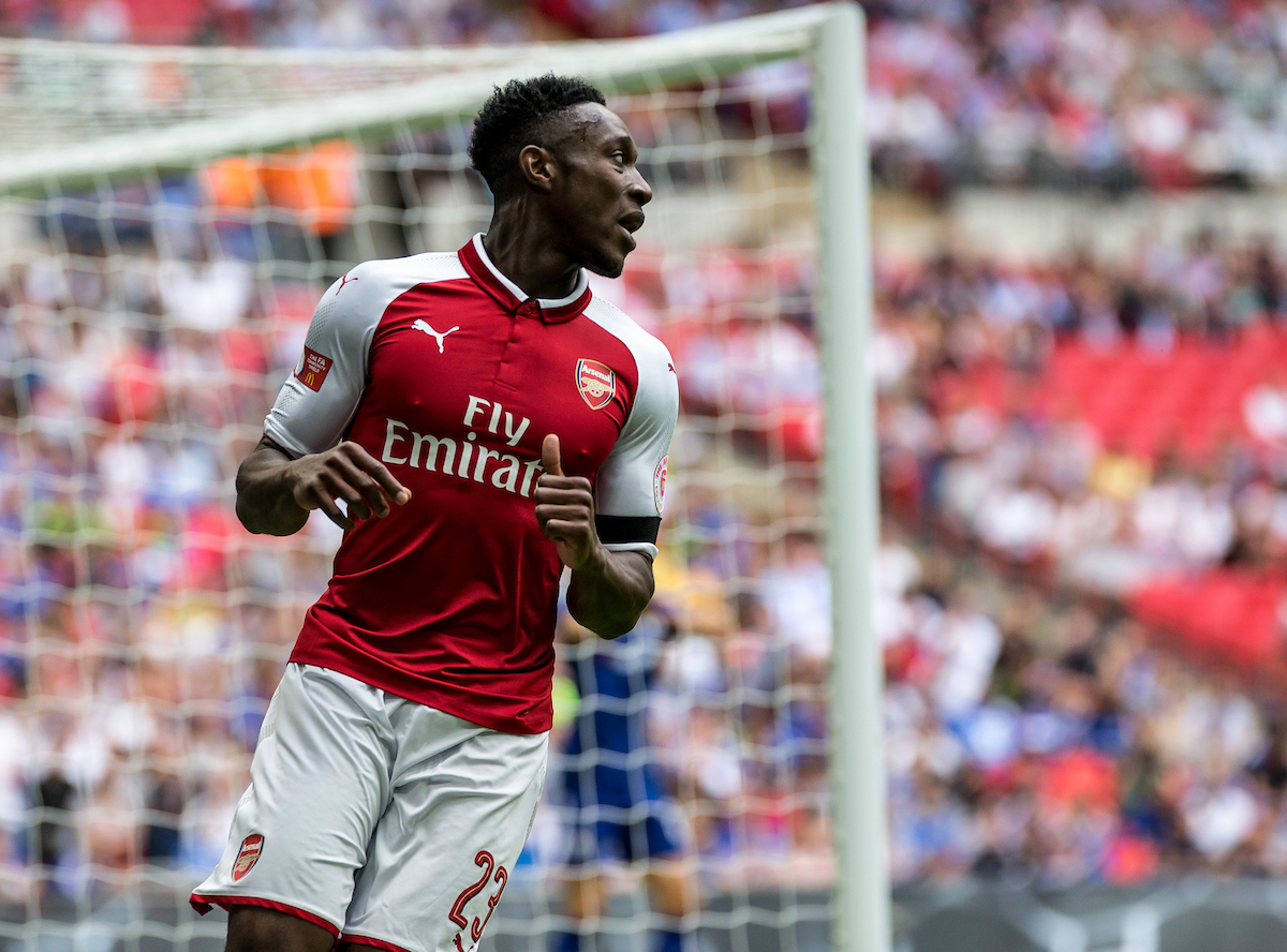 Danny Welbeck of Arsenal during the FA Community Shield match at Wembley Stadium, London Picture by Liam McAvoy/Focus Images Ltd 07413 543156 06/08/2017