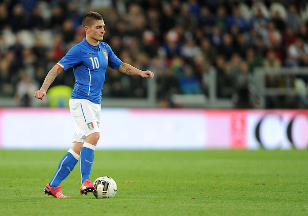 Marco Verratti of Italy during the International Friendly match at Juventus Stadium, Turin Picture by Daniel Hambury/Focus Images Ltd +44 7813 022858 31/03/2015