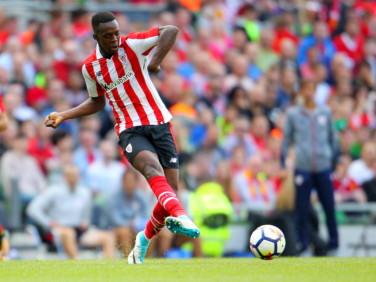 Inaki Williams of Athletic Bilbao during the Pre-season Friendly match at the Aviva Stadium, Dublin Picture by Yannis Halas/Focus Images Ltd +353 8725 82019 05/08/2017