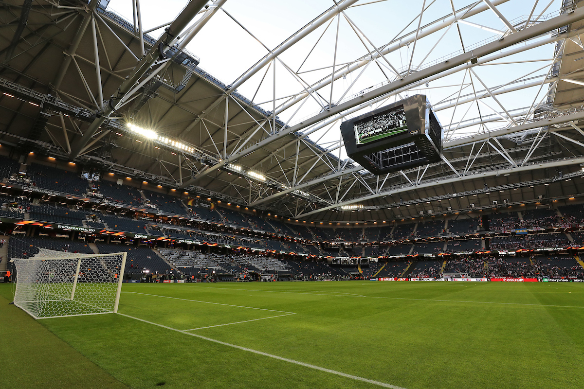 General view of the stadium before the UEFA Europa League Final at Friends Arena, Stockholm, Sweden. Picture by Paul Chesterton/Focus Images Ltd +44 7904 640267 24/05/2017