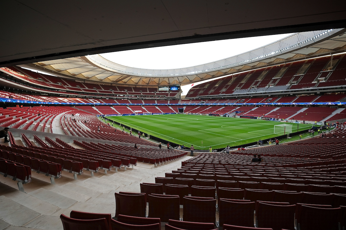 General view of the stadium pictured ahead of the UEFA Champions League match at the Wanda Metropolitano Stadium, Madrid Picture by Kristian Kane/Focus Images Ltd +44 7814 482222 27/09/2017