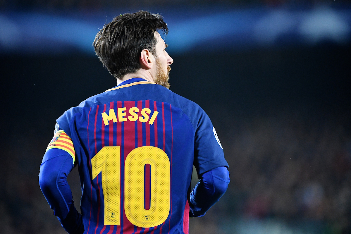 Lionel Messi of FC Barcelona during the UEFA Champions League match at Camp Nou, Barcelona Picture by Kristian Kane/Focus Images Ltd +44 7814 482222 14/03/2018