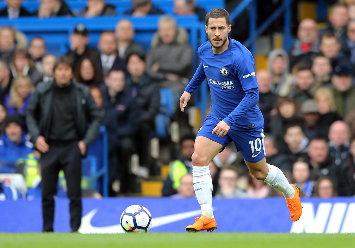 Eden Hazard decantó la final. Foto: Simon Moore/Focus Images Ltd.
