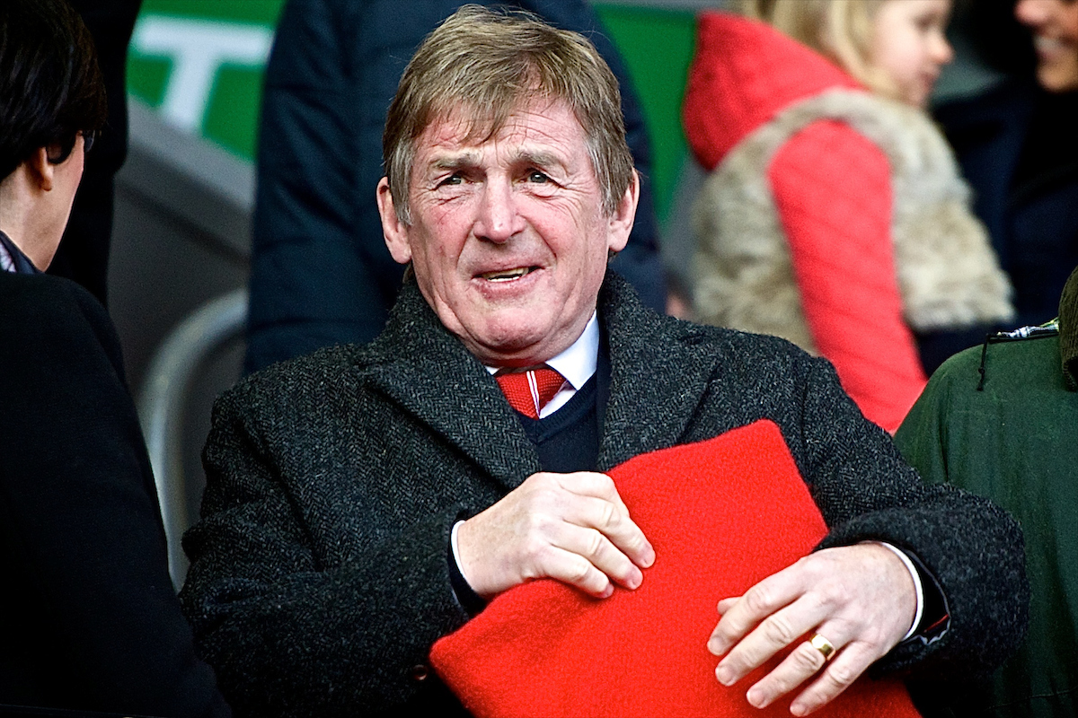 Former Liverpool player and manager Kenny Dalglish pictured ahead of the Barclays Premier League match at Anfield, Liverpool Picture by Ian Wadkins/Focus Images Ltd +44 7877 568959 31/01/2015
