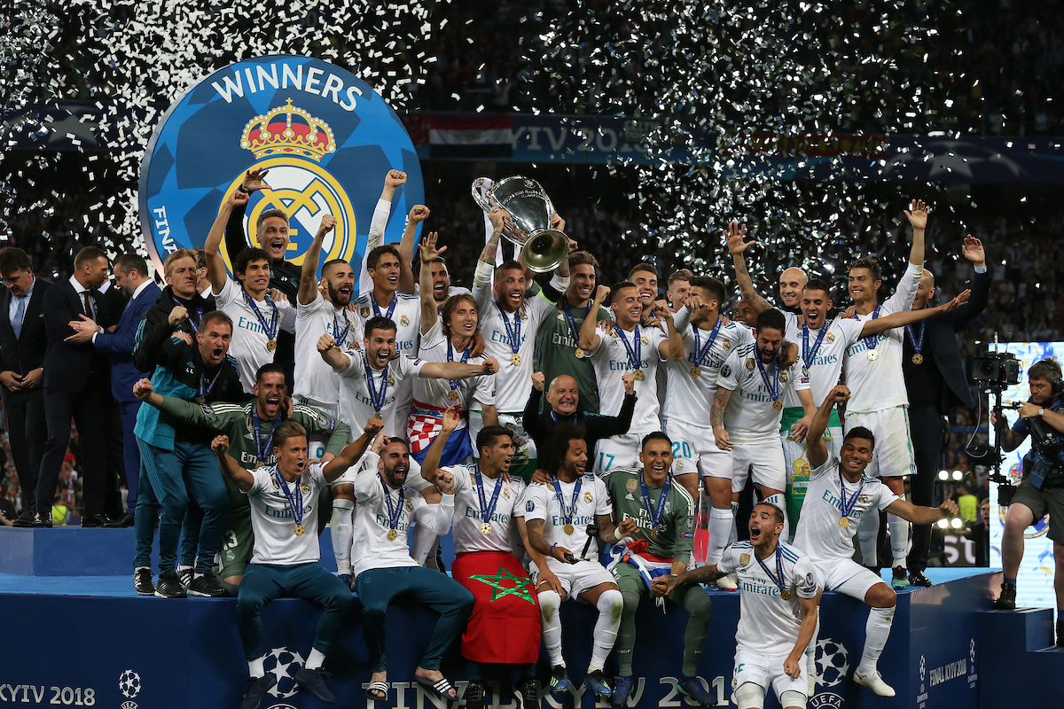 El Real Madrid ganó su tercera Champions League seguida en Kiev. Foto: Focus Images Ltd.