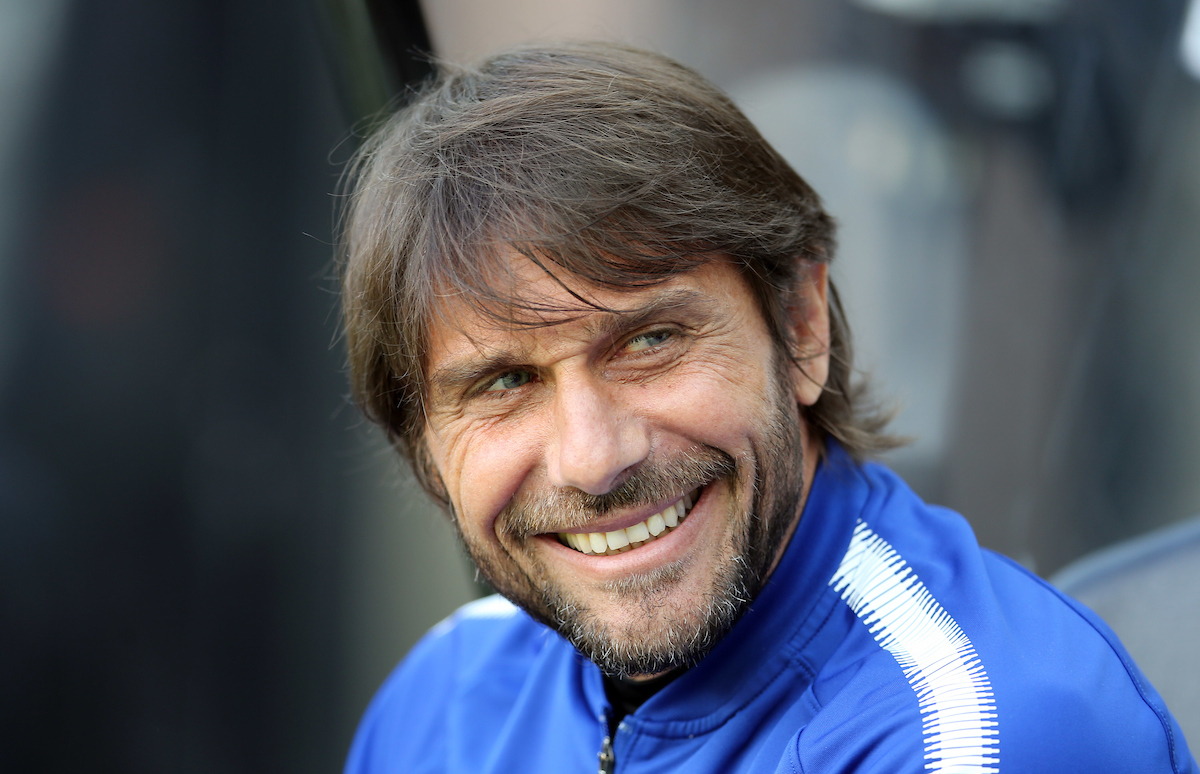 Chelsea manager Antonio Conte prior to the Premier League match at St. James's Park, Newcastle Picture by Simon Moore/Focus Images Ltd 07807 671782 13/05/2018