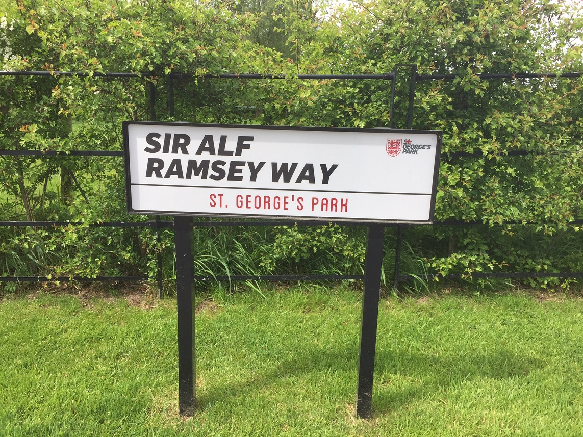 Sir Alf Ramsey Way.
