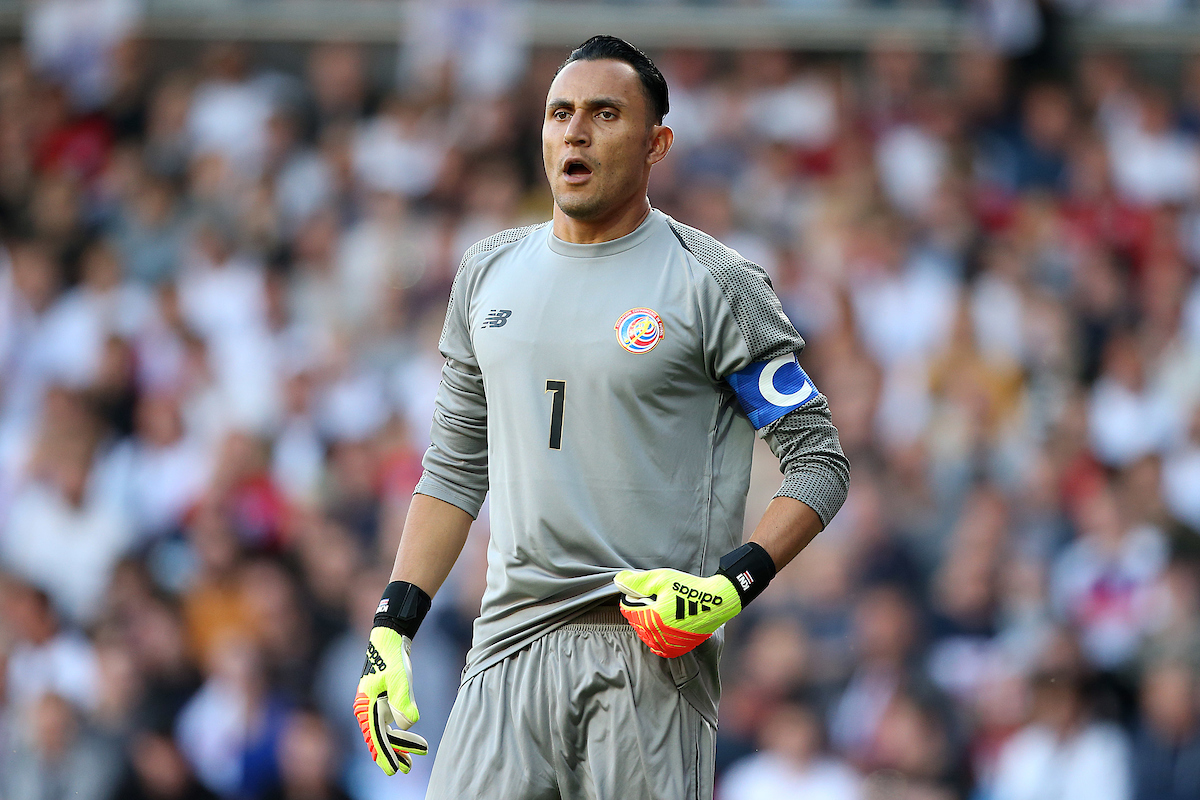 Keylor Navas of Costa Rica during the International Friendly match at Wembley Stadium, London Picture by Paul Chesterton/Focus Images Ltd +44 7904 640267 07/06/2018