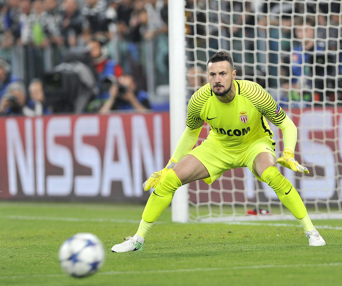 Danijel Subasic of AS Monaco FC during the UEFA Champions League semi final, second leg at Juventus Stadium, Turin Picture by Stefano Gnech/Focus Images Ltd +39 333 1641678 09/05/2017