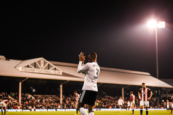 Ryan Sessegnon of Fulham claps fans at the end of the Sky Bet Championship match at Craven Cottage, London Picture by Simon Dael/Focus Images Ltd 07866 555979 06/03/2018