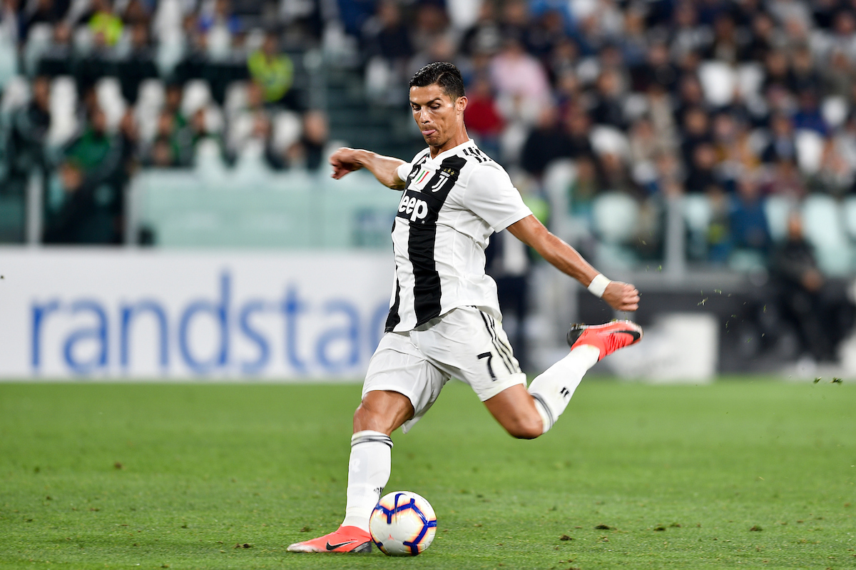 Cristiano Ronaldo of Juventus during the Serie A match at Juventus Stadium, Turin Picture by Antonio Polia/Focus Images Ltd +393473147935 26/09/2018