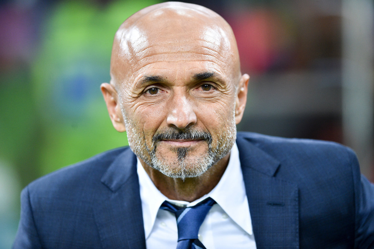 Luciano Spalletti, head coach of FC Internazionale,  during the Serie A match at San Siro, Milan Picture by Antonio Polia/Focus Images Ltd +393473147935 25/09/2018
