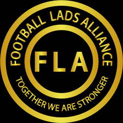 Logo Football Lads Alliance. Wikimedia Commons.