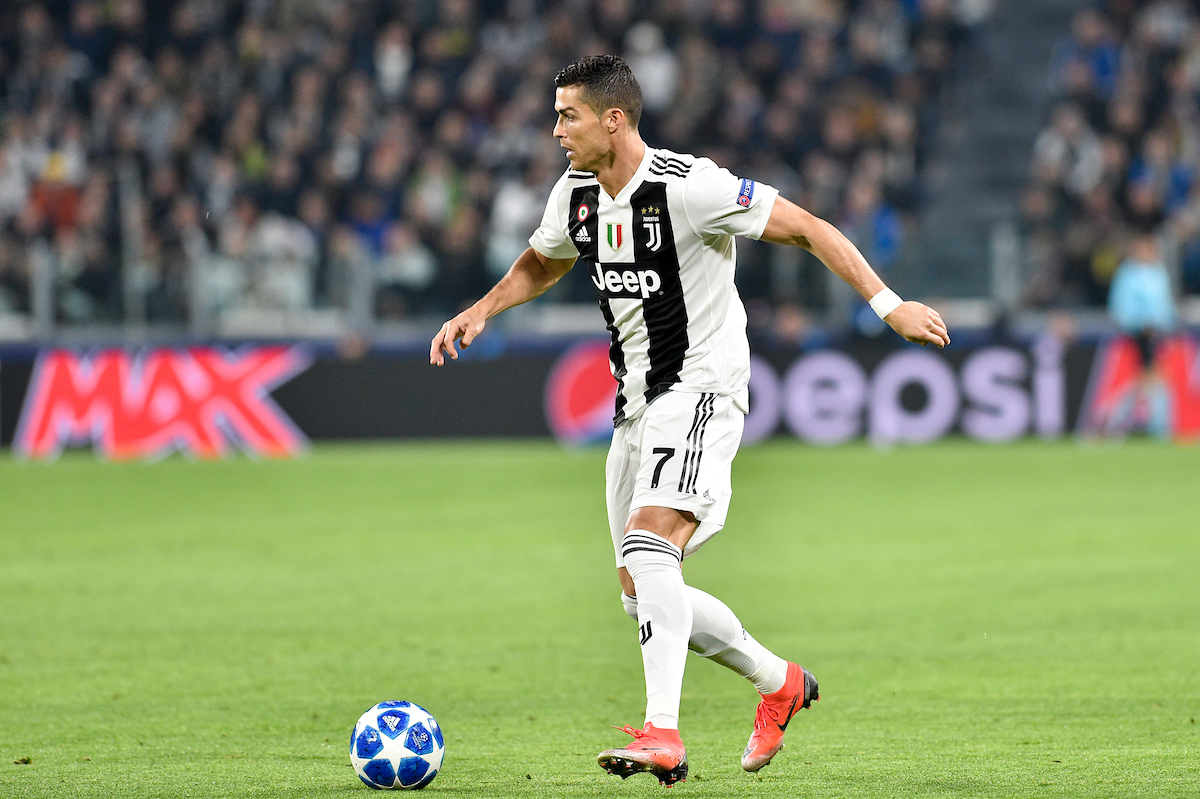 Cristiano Ronaldo of Juventus during the UEFA Champions League match at Juventus Stadium, Turin Picture by Antonio Polia/Focus Images Ltd +393473147935 07/11/2018