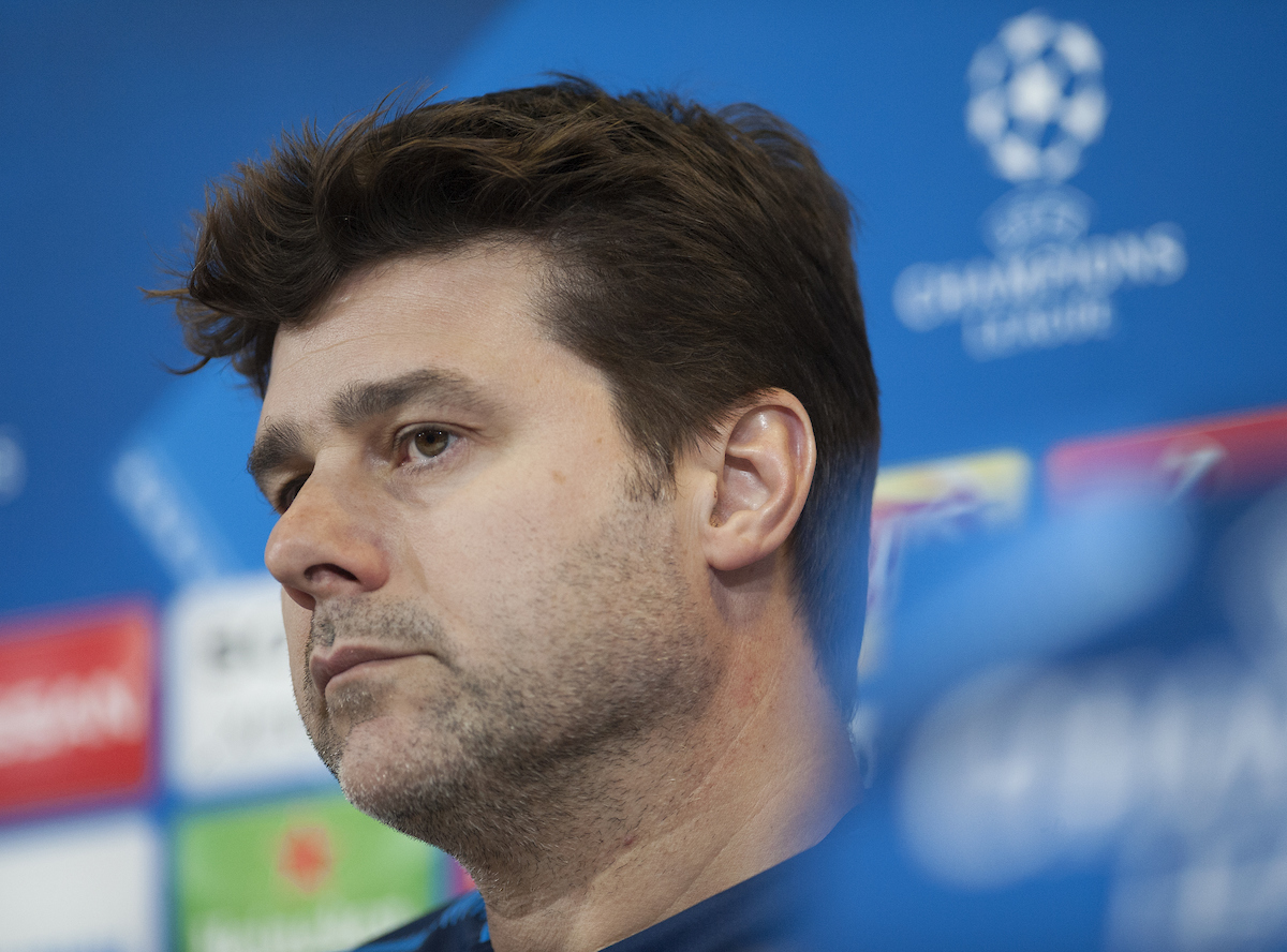 Tottenham Hotspur manager Mauricio Pochettino during a press conference at Juventus Stadium, Turin Picture by Stefano Gnech/Focus Images Ltd +39 333 1641678 12/02/2018