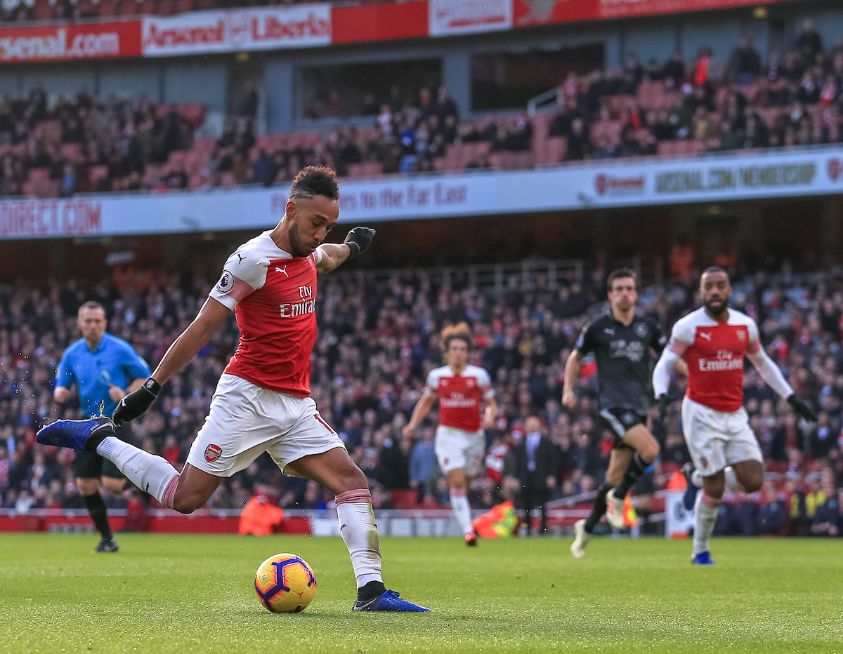 Arsenal Aubameyang Focus