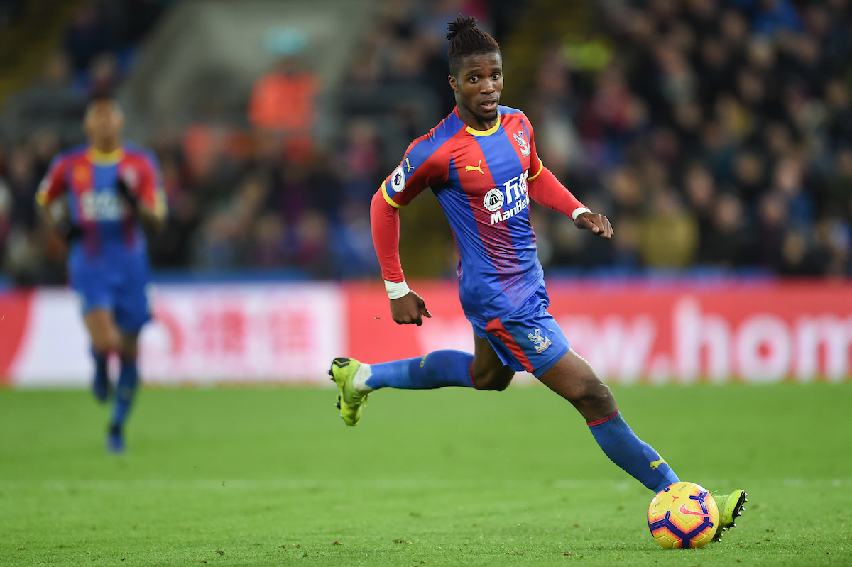 Wilfried Zaha lideró a Costa de Marfil. Foto: Focus Images Ltd
