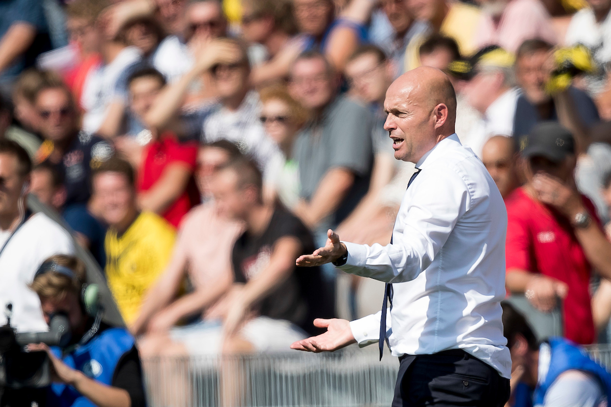 Marcel Keizer, manager of Ajax Amsterdam during the Dutch Eredivisie match at Stadion De Koel, Venlo Picture by Joep Joseph Leenen/Focus Images Ltd +316 5261929 27/08/2017 ***NETHERLANDS OUT***