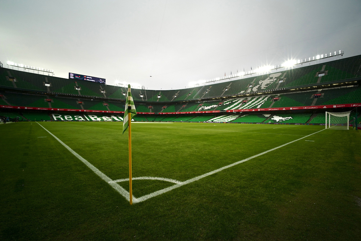 General view of the stadium pictured ahead of the UEFA Nations League match at the Estadio Benito Villamarin, Seville Picture by Kristian Kane/Focus Images Ltd +44 7814 482222 15/10/2018